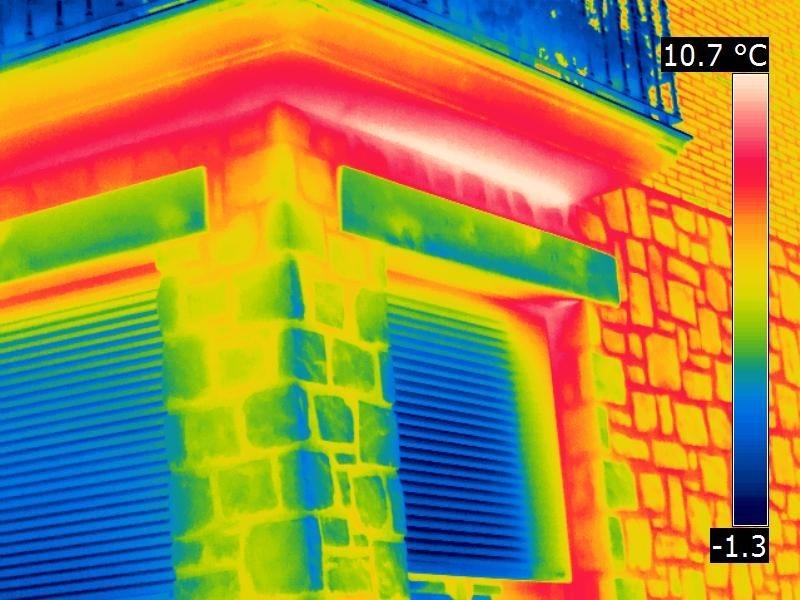 Termografía y sus aplicaciones en edificación